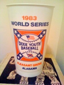Just one of many souvenirs from the summer of '83 still on hand
